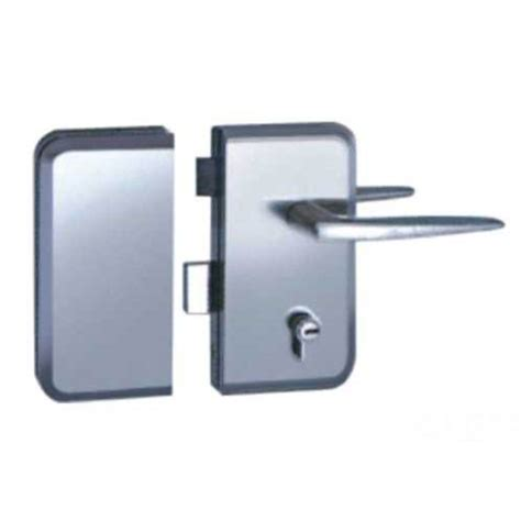 China Manufacturer Commercial Double Side Frameless Glass Commercial Glass Door Locks