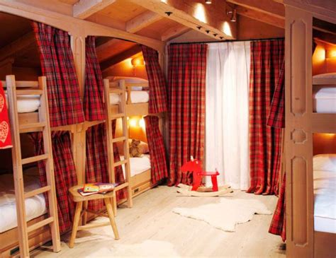 pictures for children s bedrooms swiss chalet kids bunks by vsp interiors swiss chalet