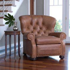 ethan allen cromwell recliner navy blue leather recliner quot perfect quot leather recliners