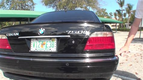 1999 bmw 750il for sale 2001 bmw 750il part 2 real dinan v12