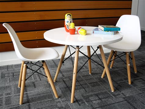 childs table and chair set mocka table chair set replica