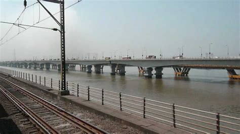 indiantrains@2nd longest railway bridge near mumbai/train ...