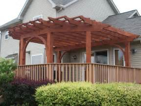 Adding A Pergola To An Existing Deck by Pergola Designs Existing Deck Pdf Woodworking