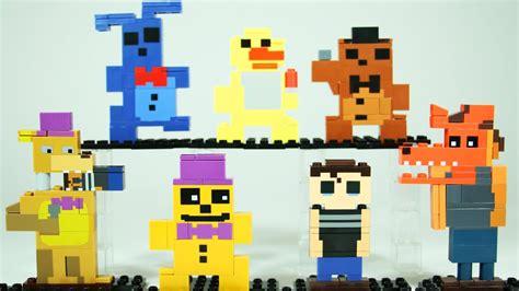 8 bit figures fnaf 8 bit figures series 2 mcfarlane toys five nights