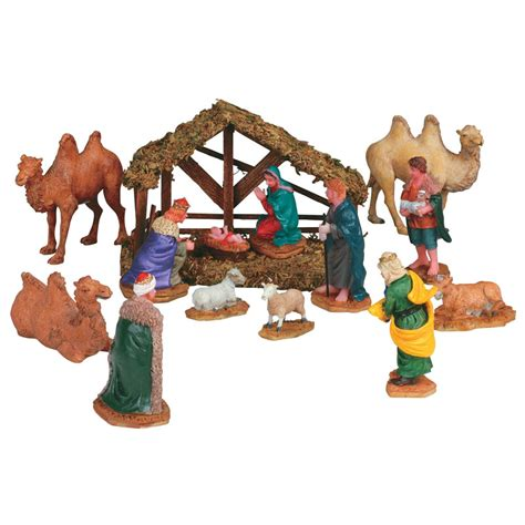 lemax nativity table accent set of 14 33410