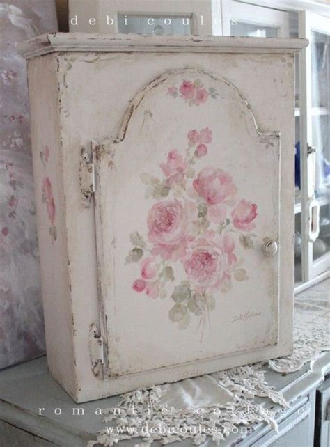 shabby chic medicine cabinet my shabby vintage roses cabinet is available at www