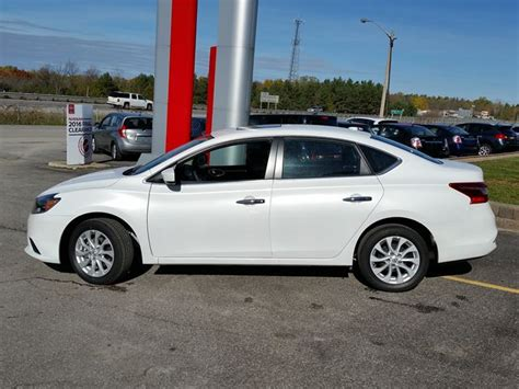 nissan sentra 2017 white 2017 nissan sentra sv white for 24476 in orillia theifp ca