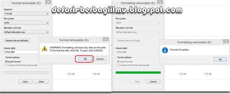 cara format flashdisk ntfs atau fat32 cara mengetahui flashdisk asli atau palsu kupas komputer