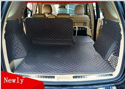 car travel good special trunk mats  mercedes benz