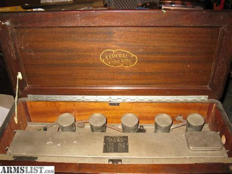 Radio For Sale by Armslist For Sale Federal Ortho Sonic Radio 1926