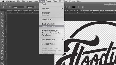 Select Outline Photoshop by Quickly Convert Text Fonts To Outline With Adobe Illustrator Or Photoshop Floodway Print Company