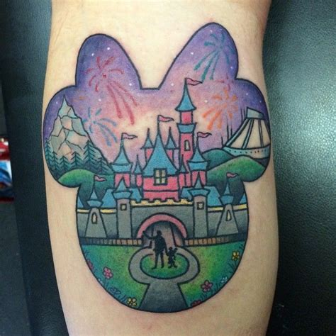 disneyland tattoos disney by melaniemilnetatoos disney disneyland