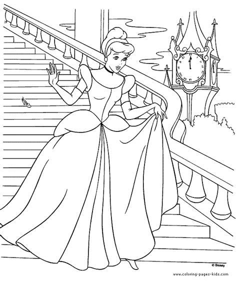 cinderella cartoon coloring pages cinderella color page disney coloring pages color plate