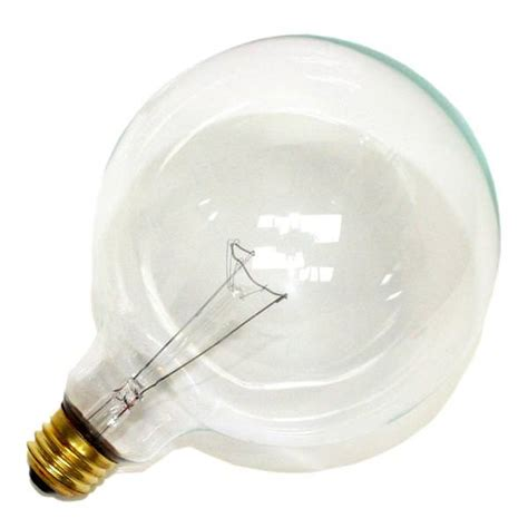 60 watt clear globe light bulb halco 05205 g40cl60 g40 decor globe light bulb