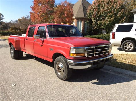 old car owners manuals 1996 ford f350 free book repair manuals 1994 ford f350 xlt crew cab dually 7 3 turbo diesel low miles classic ford f 350 1994 for sale
