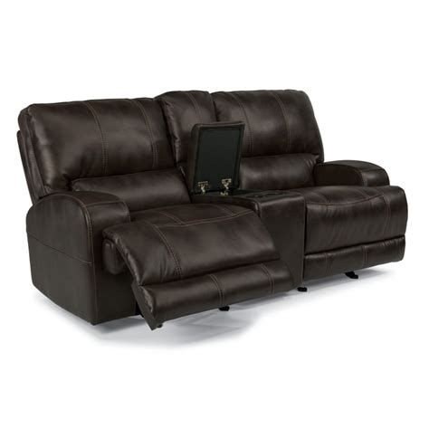 reclining loveseat cheap flexsteel 1690 604p cynthia fabric power reclining