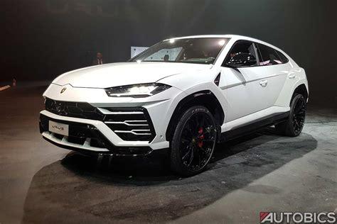 Lamborghini Urus 2019 Front Left White Autobics