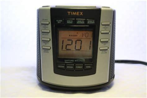 timex nature sounds t300b digital tuning am fm alarm clock radio soothing ebay