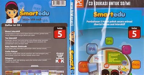 Cd Pembelajaran Smartedu Untuk Sd Kelas 5 toko buku rahma cd pembelajaran smartedu untuk sd mi kelas 5