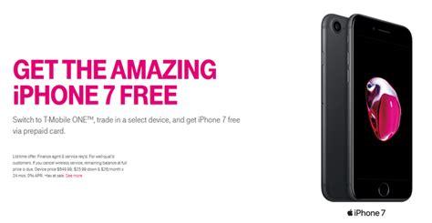 t mobile is giving you a free iphone 7 if you switch to the carrier here s how