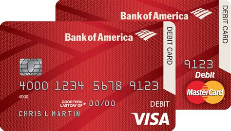 Visa Gift Card Bank Of America - bank of america begins rollout of chip debit cards bank