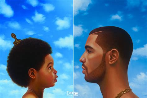 Drake S Face Plastered On - drake s nothing was the same is good but not the great