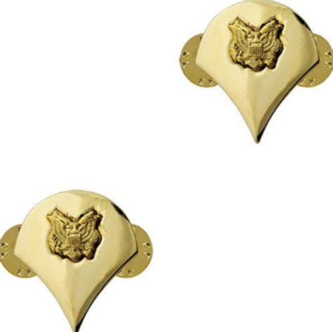 Us Rank Gold u s army specialist 4 gold collar rank insignia