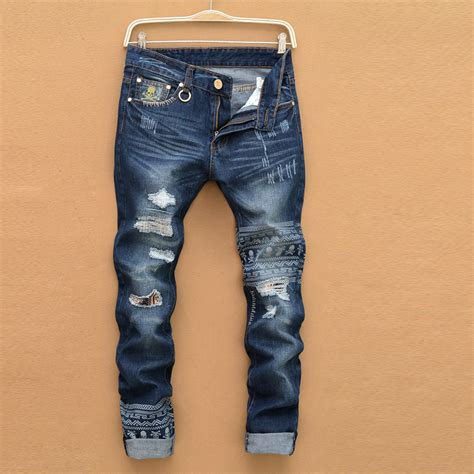 new jeans pattern in india new disel jeans mens famous brand biker jeans robin