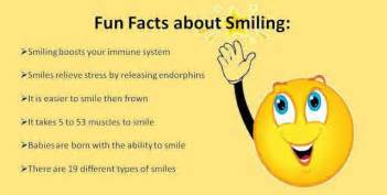 facts about i fun facts about smiling smiling boosts your immune system