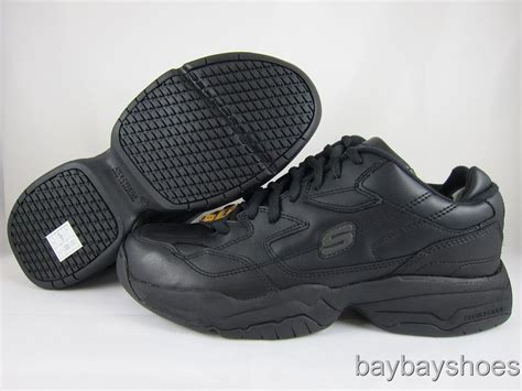Adidas Felix Safety skechers felix keystone wide width 2e black slip resistant