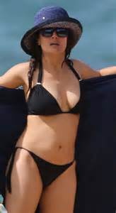 in swimsuit salma hayek in bikini 2015 youtube