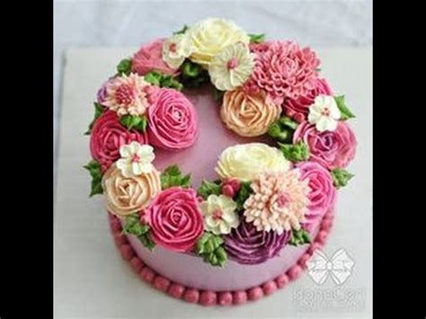 Hiasan Bunga Tulip Flower Dekorasi flower buttercream kue hiasan bunga
