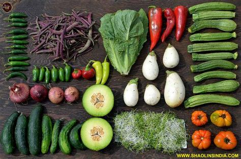 6 weight loss power vegetables india kung fu warrior monk nellore fitness