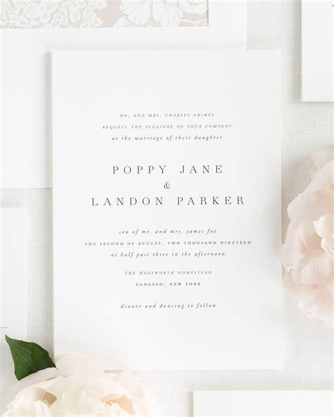 Wedding Invitations By by Poppy Wedding Invitations Wedding Invitations By Shine