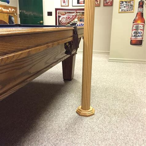 basement lally column covers rooms