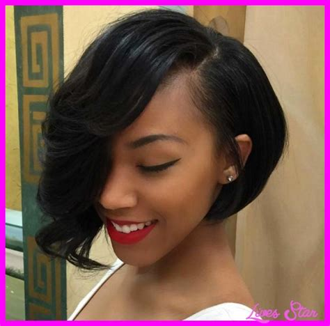asymetrical short hair styles for older women short asymmetrical haircuts for black women livesstar com