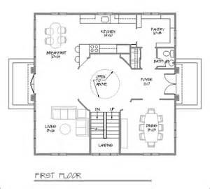 foursquare floor plans american foursquare house floor plans