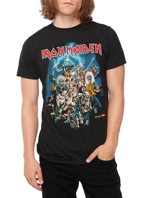 iron maiden the best of iron maiden best of the beast t shirt topic
