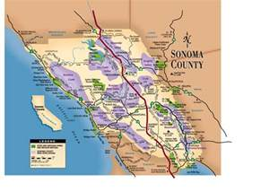 map of northern california wine country entertainment events festivals sonoma county