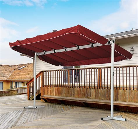 freestanding awnings outdoor free standing awning patio canopy gazebo shelter