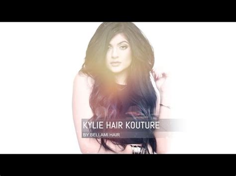 kylie hair kouture reviews first impression bellami hair extensions kylie jenner