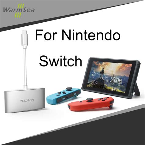 aliexpress nintendo switch usb 3 1 type c hdmi 4k adapter for nintendo switch dongle