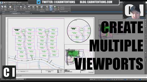 create layout viewport autocad autocad tutorial how to create multiple shape