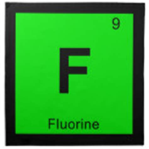 Fluorine Periodic Table by Fluorine Individual Element Of The Periodic Table Cloth