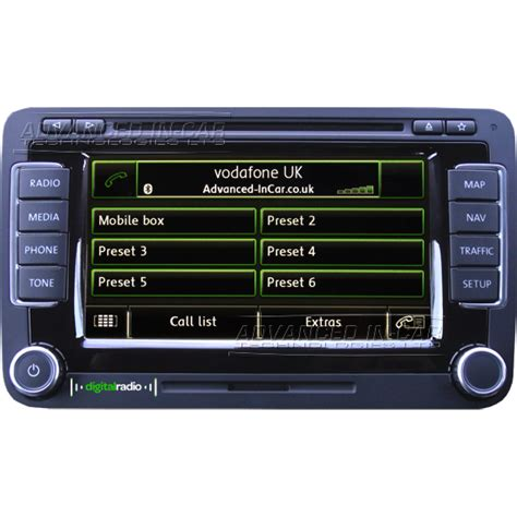Volkswagen Rns 510 by Volkswagen Rns 510 Dab Navigation Advanced In Car