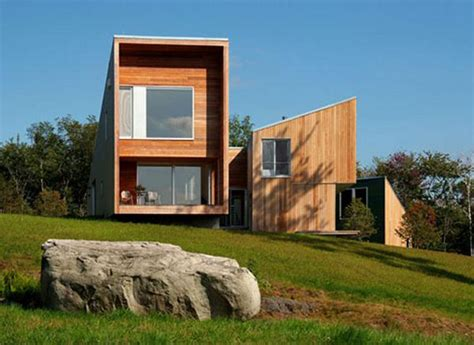 building a home in vermont modern cedar house in vermont mountains