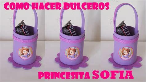 souvenirs de princesa sofia con botella como hacer dulceros de foami princesita sofia