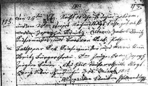Mormon Church Birth Records Benitz Origins 6 Endingen Did Not Emigrate