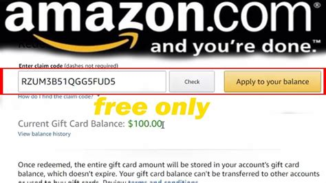 Amazon Free Gift Card Code - amazon gift card codes 2017 update how to get free amazon gift card codes 100