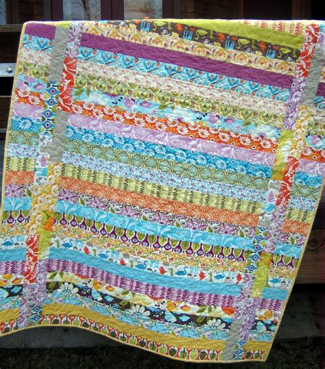 Jelly Rolls Quilt by Quilt Pattern Jelly Roll Or Quarters Easy And Ebay